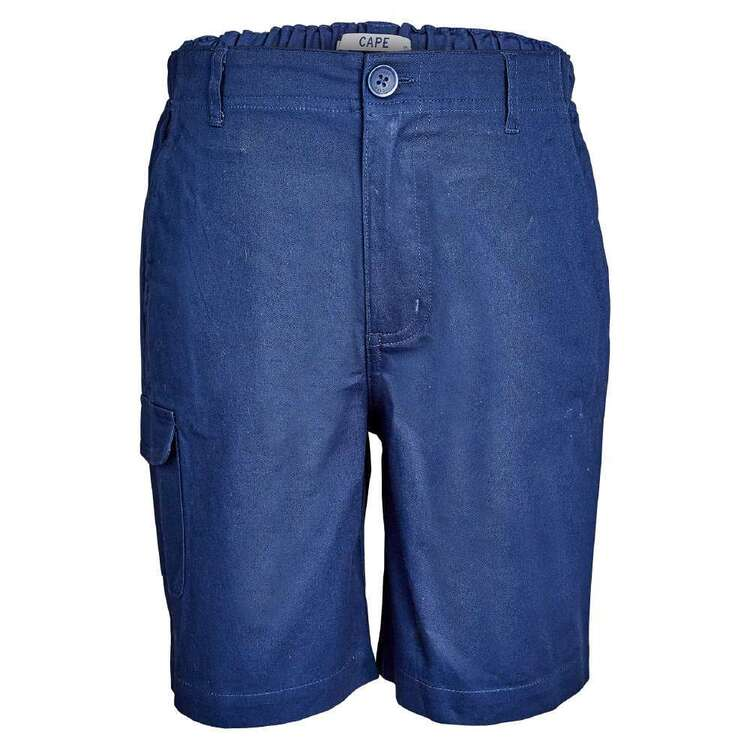 Cape Youth Shirred Core Shorts Navy