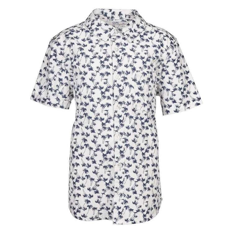 Cape Boys' Palm Print Shirt