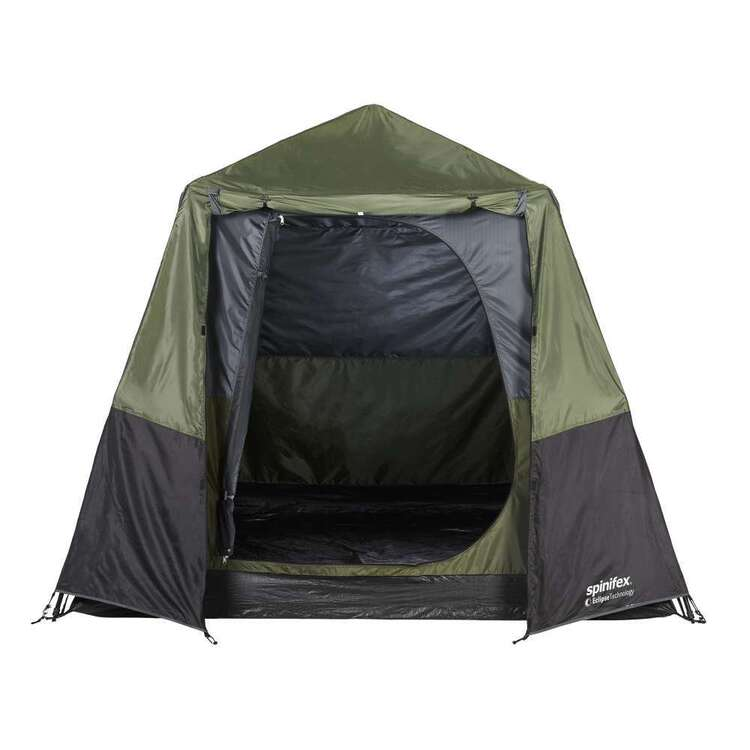 Spinifex Mawson Eclipse 4 Person Tent Dark Green & Black