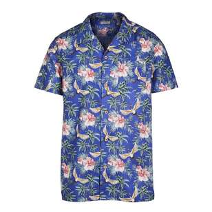 Cape Men's Blue Lagoon Short Sleeve Shirt