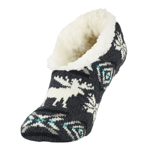 SOF Sole Women's Fireside Aztec Moose Slippers