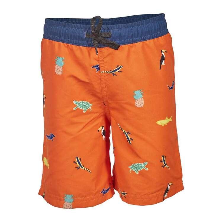 Body Glove Kids' Tropical Fluoro Board Shorts