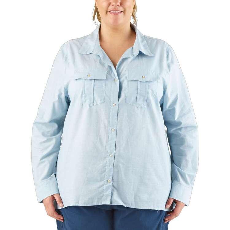 Cape Women's Ariana Long Sleeve Shirt Plus Size