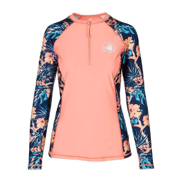 Body Glove Women's Butterfly Long Sleeve Rash Vest