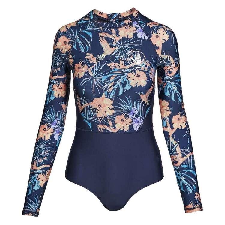 Body Glove Women's Butterfly Long Sleeve Rash Suit