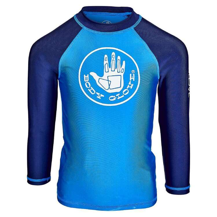 Body Glove Kids' Contrast Long Sleeve Rash Vest