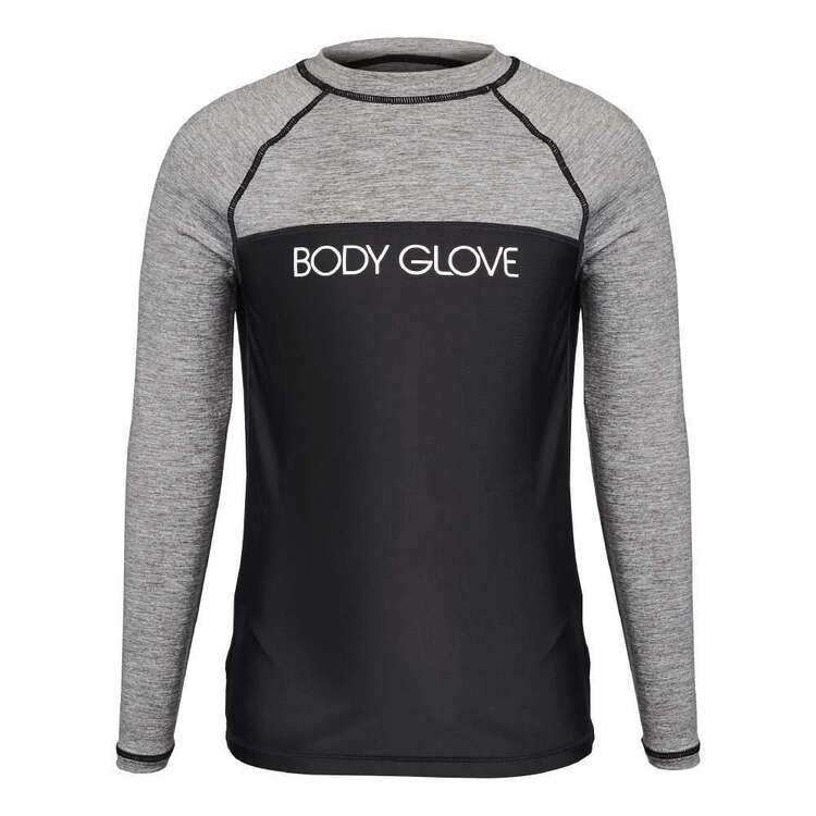 Body Glove Youth Contrast Chest Long Sleeve Rash Vest
