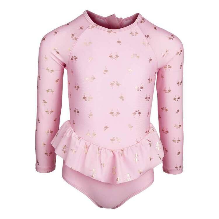 Body Glove Kids' Flamingo Frill Swimsuit