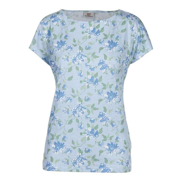 Gondwana Women's Sherbrooke Chrysanthemum Short Sleeve Tee