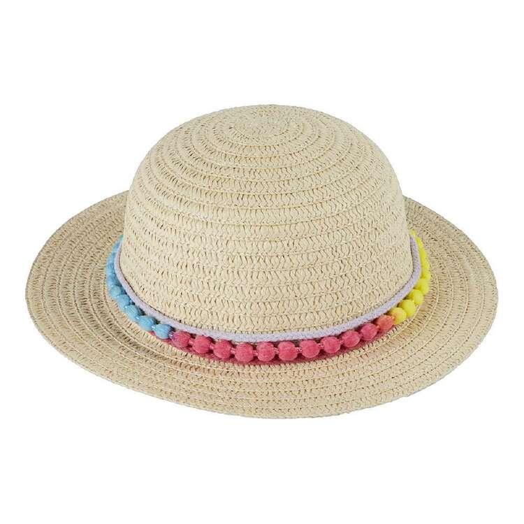 Cape Kids' Eden Pom Trim Hat