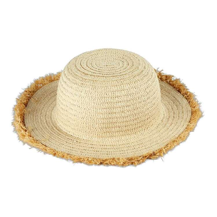 Cape Kids' Bella Fringe Straw Hat