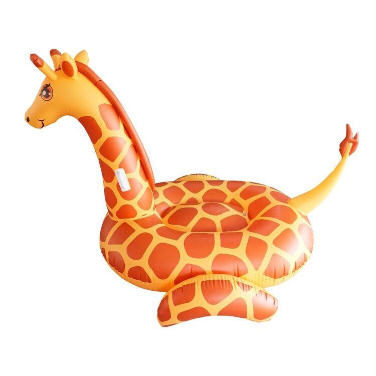 We Love Summer Giant Ride-on Giraffe