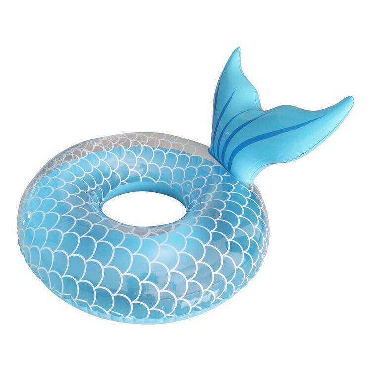 We Love Summer Mermaid Tail Swim Ring
