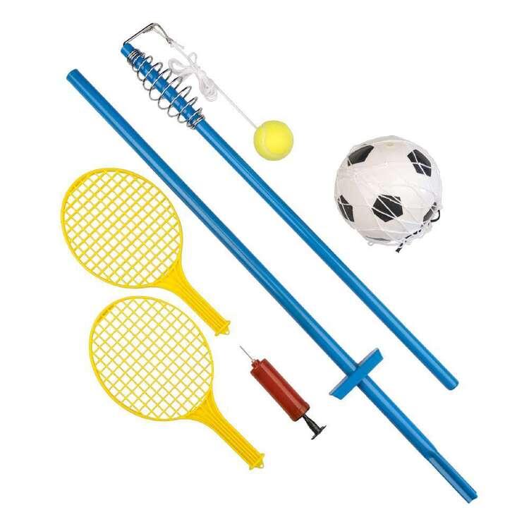 Green Leisure 2-in-1 Soccer & Tennis Set