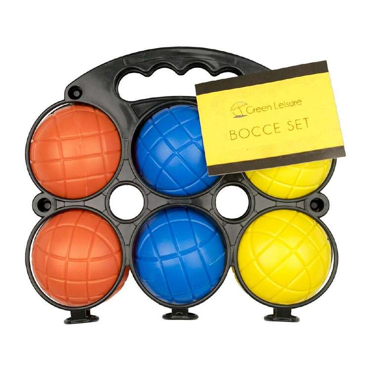 Green Leisure Bocce Set Multicoloured