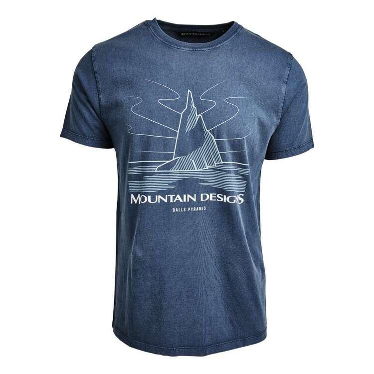 Mountain Designs Men's Terrain Tee Denim