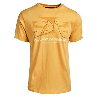 Mountain Designs Men's Terrain Tee Mango