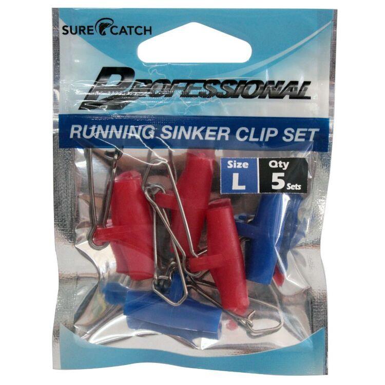 SureCatch Running Sinker Clip Large 5 Pack