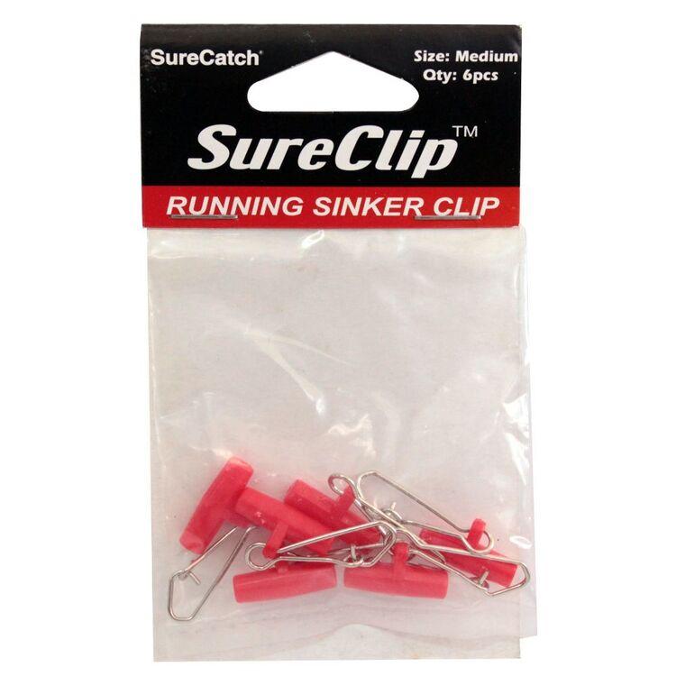 SureCatch Running Sinker Clip Medium 6 Pack