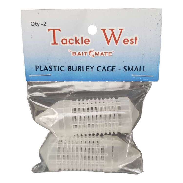 Tackle West Plastic Burley Cage Small 2 Pack