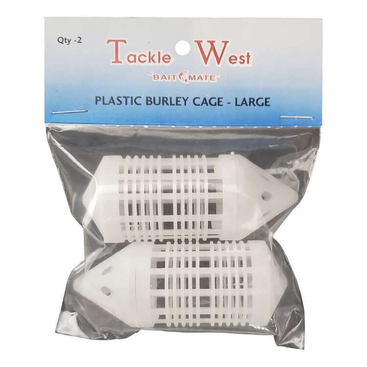 Tackle West Plastic Burley Cage Large 2 Pack