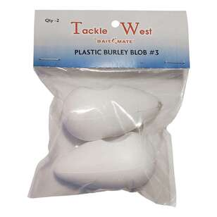 Tackle West Plastic Burley Blob 2 Pack