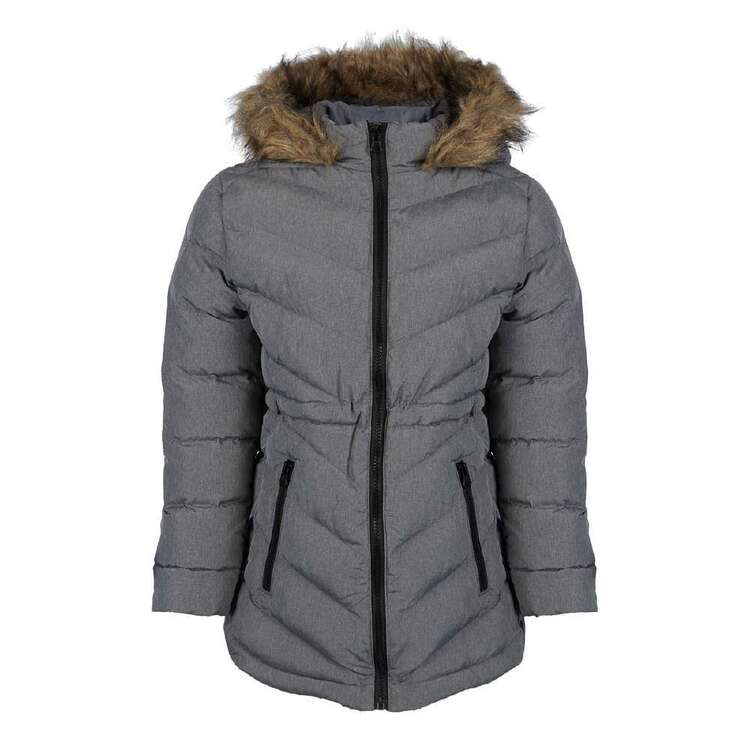 Cape Youth Melange Puffer Jacket