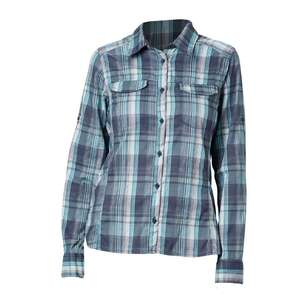 Columbia Women's Silver Ridge Lite Plaid Long Sleeve Shirt