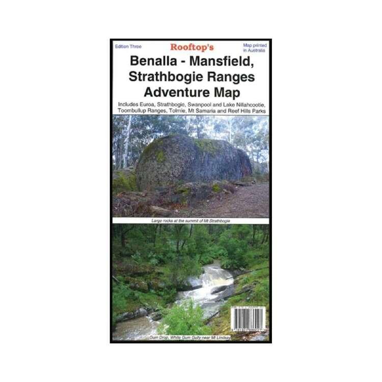 Rooftop Benalla - Mansfield - Strathbogie Ranges Map