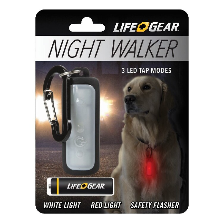 Life+Gear Night Walker Pet Clip Light