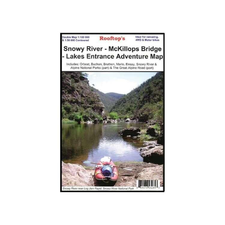 Rooftop Snowy River - McKillops Bridge - Lakes Entrance Adventure Map