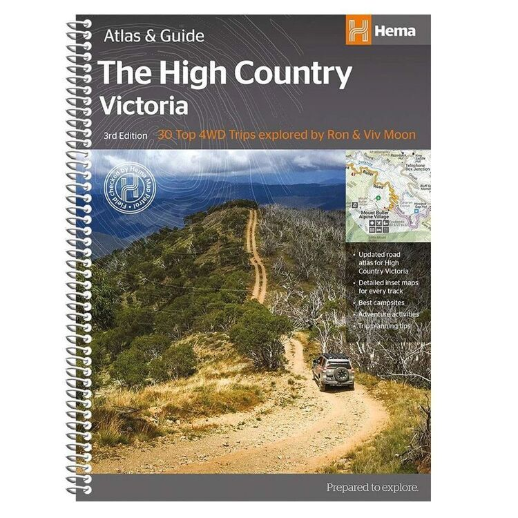 Hema Victoria High Country Atlas & Guide