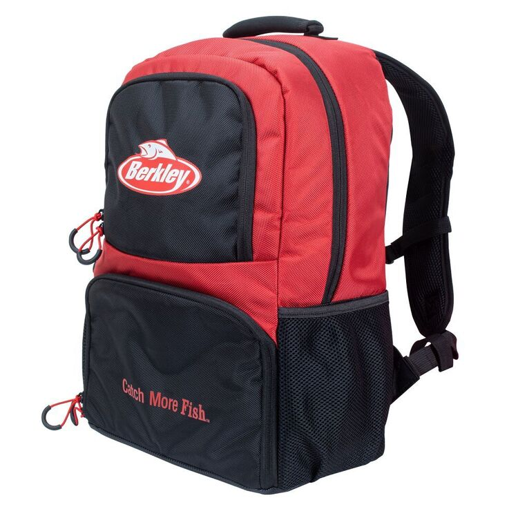 Berkley Backpack With 4 Tackle Trays Black