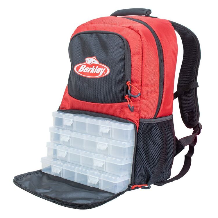 Berkley Backpack With 4 Tackle Trays