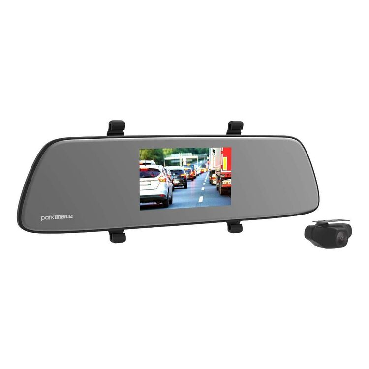 "Parkmate 5.0"" Dual Channel Reverse Mirror Camera"