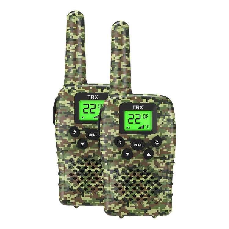 TRX UHF CB Camo Handheld Radio 2 Pack