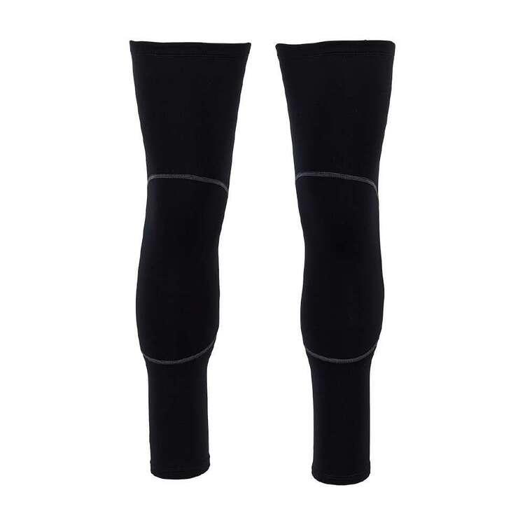 Fluid Black Leg Warmers