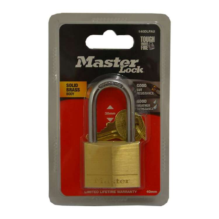 Master Lock Brass Padlock