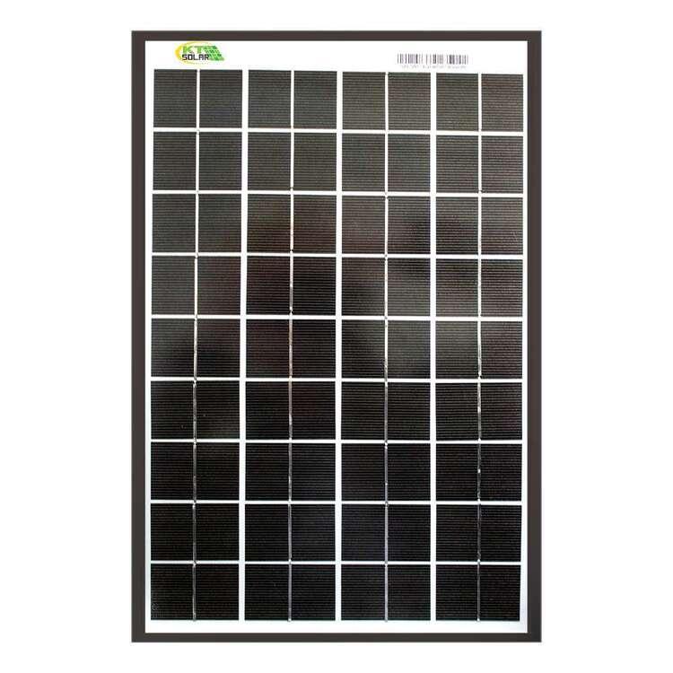 KT Cables 10 Watt Solar Panel