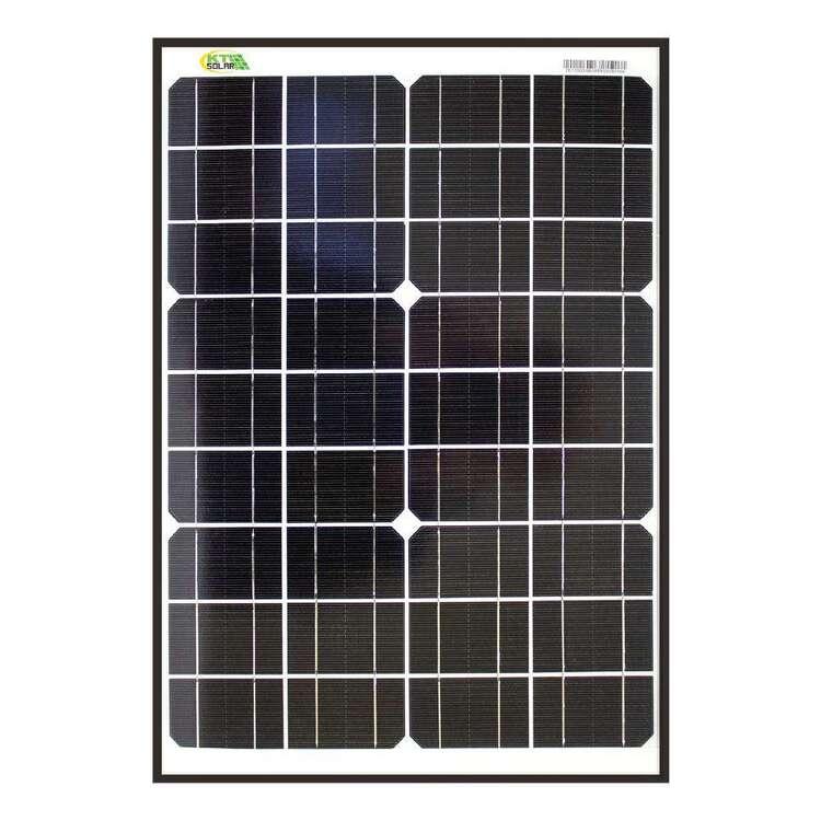 KT Cables 40 Watt Solar Panel
