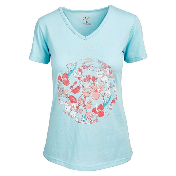 Cape Women's Lacey Orchard Short Sleeve Tee