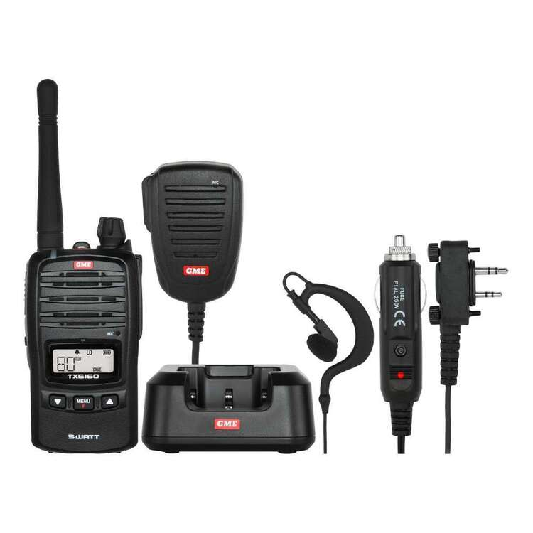 GME TX6160 5 Watt UHF CB Handheld Radio Pack