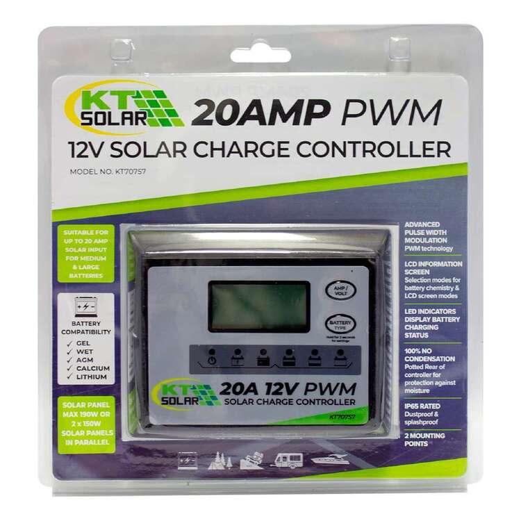 KT Cables 20 Amp Solar Regulator