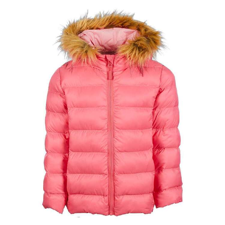 Cape Kids' Recycled Fur Puffer Jacket