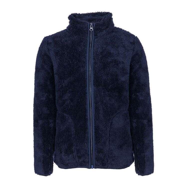 Cape Youth Fluffy Fleece Zip Top