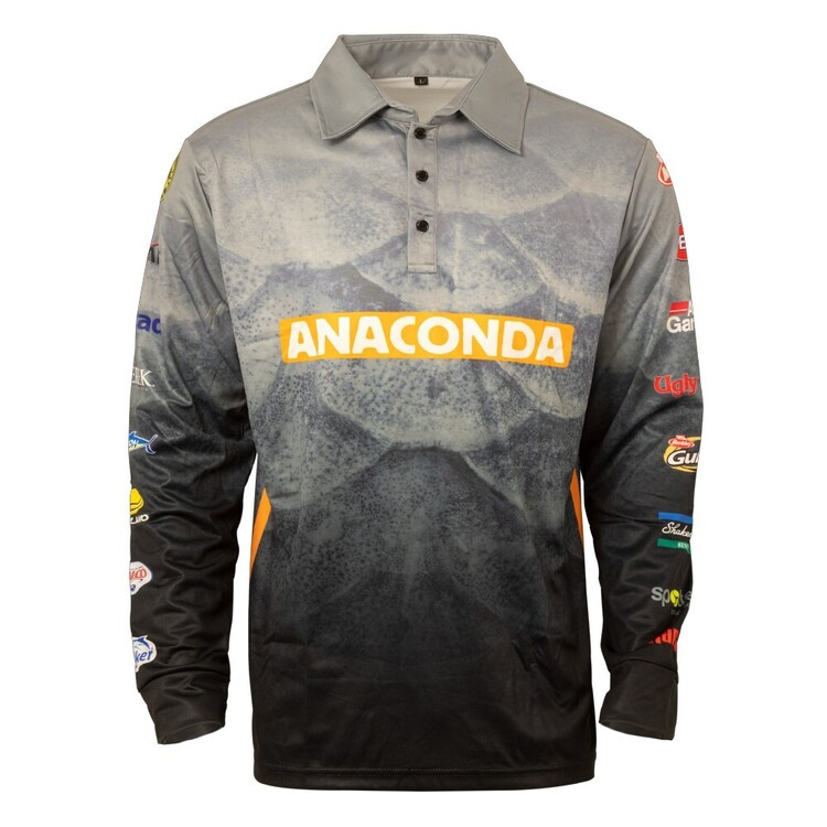 Anaconda Pro Sublimated Fishing Shirt