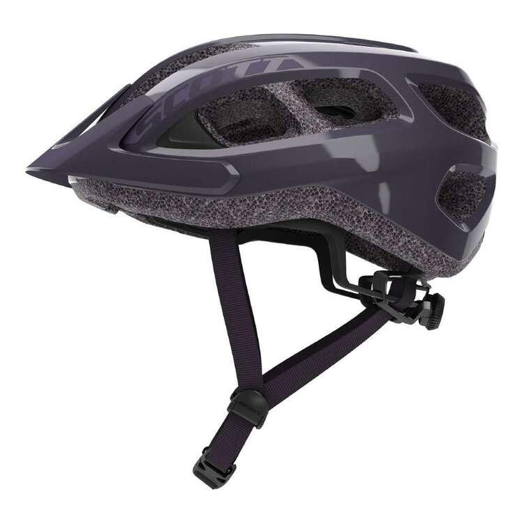 Scott Adult's Dark Purple Supra Bike Helmet