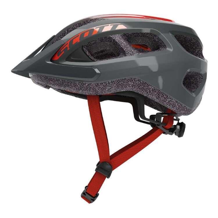 Scott Adult's Grey & Red Fade Supra Bike Helmet