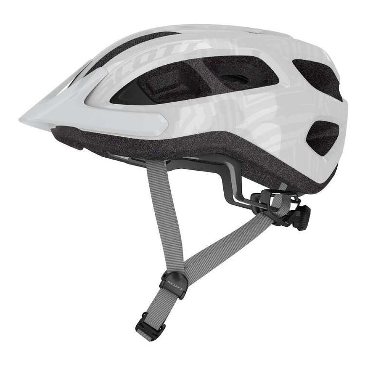 Scott Adult's Silver Supra Bike Helmet