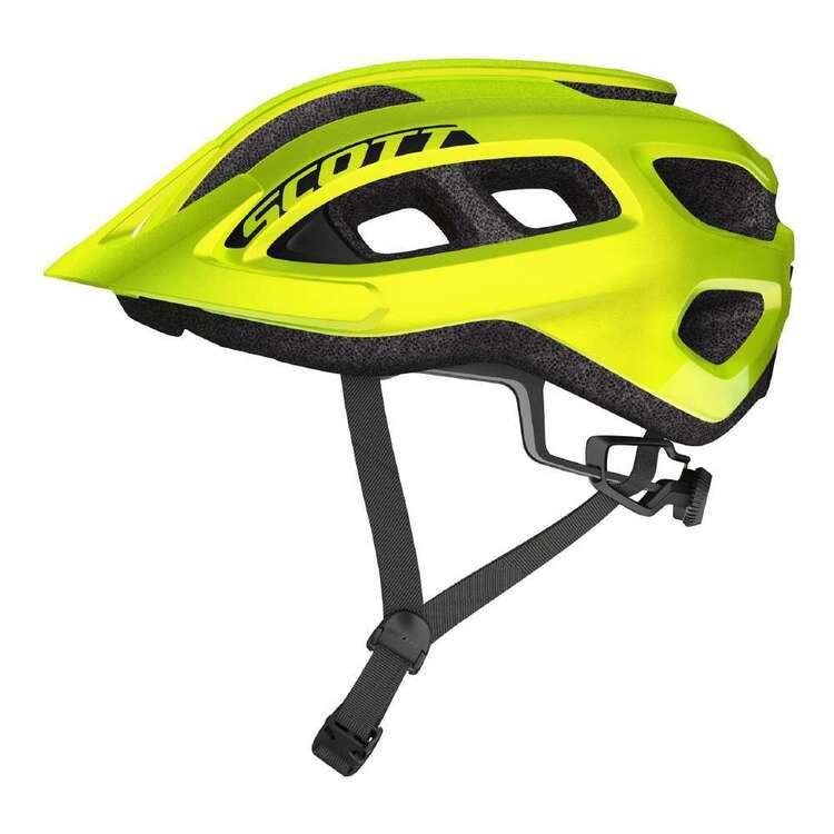 Scott Adult's Supra Fluoro Yellow Bike Helmet